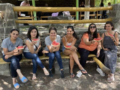 Picnic at Karbi with SOL Armenia