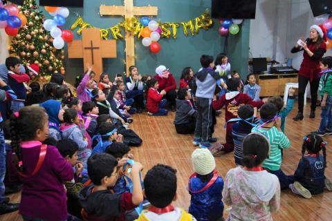 Սուրիացի Գաղթական Մանուկներու Սուրբ Ծնունդի Տօնակատարութիւն