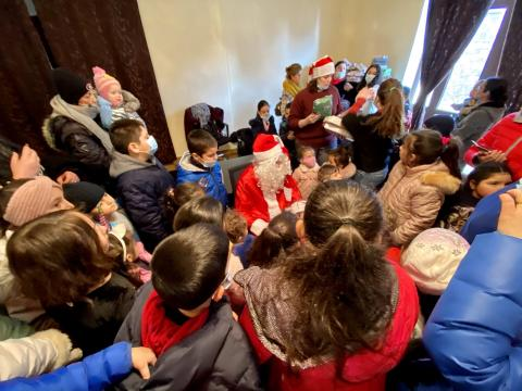 Մանուկներու Սուրբ Ծննդեան Ձեռնարկ «Կեանքի Աղբիւր Եկեղեցի Հայաստան»-ի մէջ