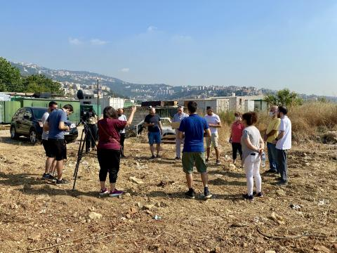 Anointing of our Land & The Blessing of the Construction Project