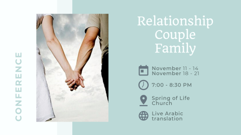Relationship, Couple & Family Conference