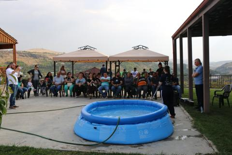 Water Baptism in Armenia