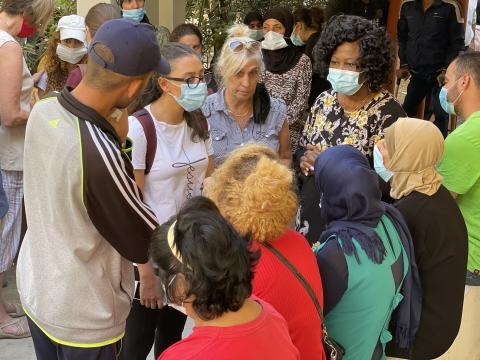 Outreach ministry from Barrelias through Saadnayel to Baalbek