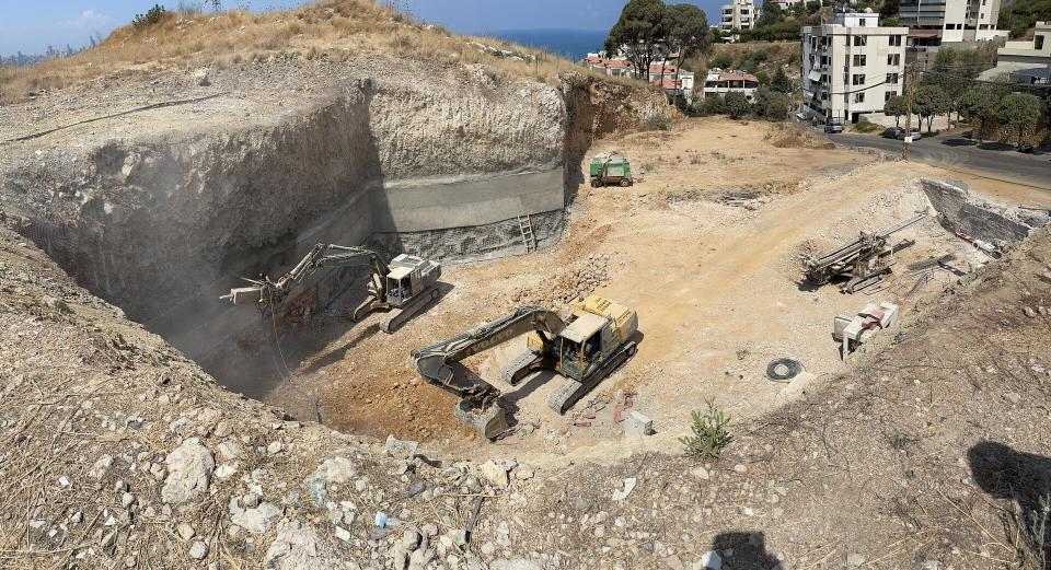 Halfway into the Excavation Process